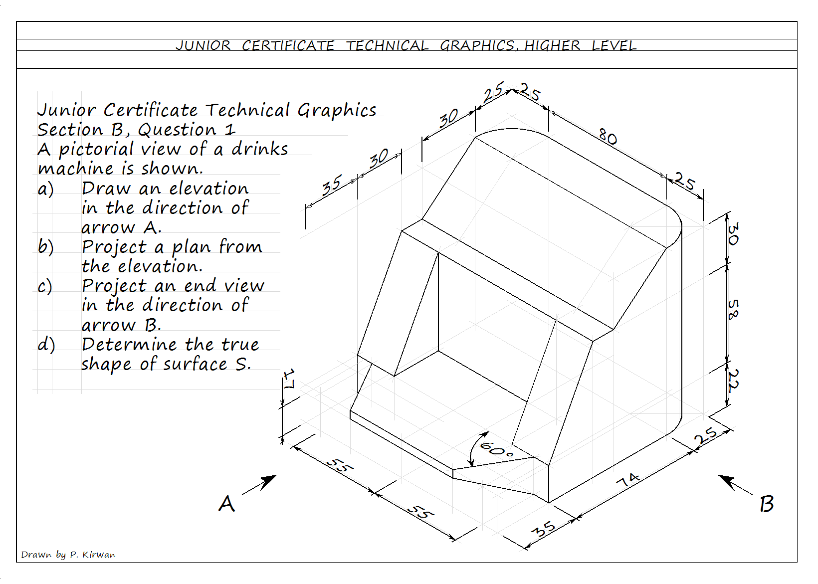 Technical Graphics Elevation Plan End View : Technical graphics wexford cbs